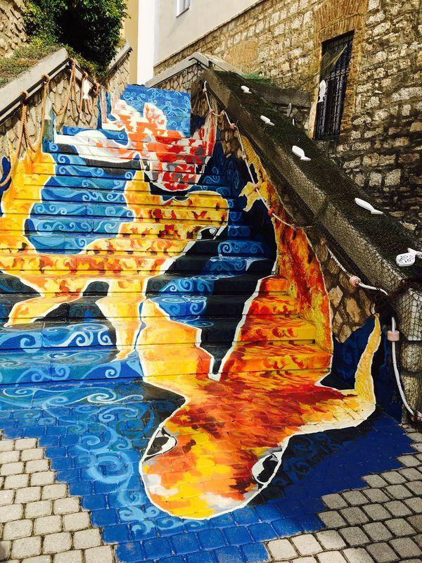 Halas lépcső